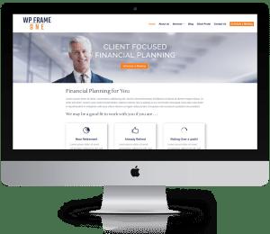 WordPress Websites for Financial Advisors | WP Frame One