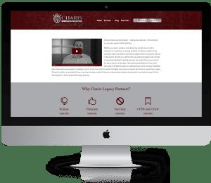 WordPress Websites for Financial Advisors - Charis Legacy Partners