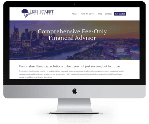 WordPress Websites for Financial Advisors - Tree Street Advisory