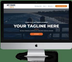 Wordpress websites for advisors