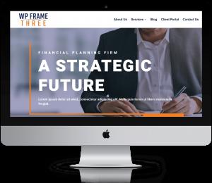 WordPress Website for Advisors